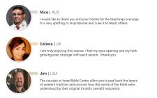 Дизайн блока отзывов для сайта