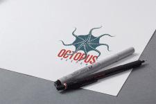 логотип для OCTOPUS