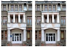 Удаление лишнего с фото архитектуры