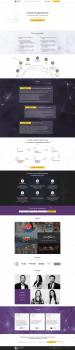 Веб-дизайн сайта компании Clever digital marketing