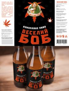 Розробка етикетки для конопляного пива