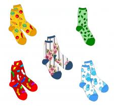 Дизайн шкарпеток