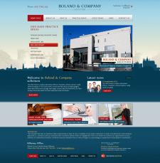 Верстка Boland & Company