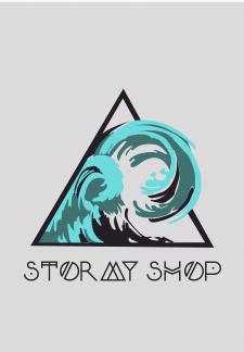 Логотип для онлайн-магазина