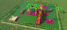 Создание моделей для детских площадок