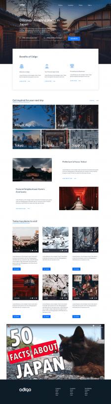 Верстка сайта на Бутстрапе