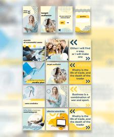 Дизайн страницы диджитал-агентства