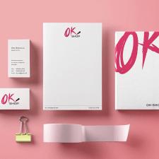 Разработка фирменного стиля для OK Shop