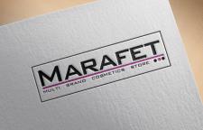 Логотип для магазина косметики Marafet
