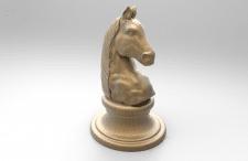 Шахматная фигура. Лошадь