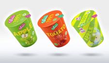 Концепт упаковки для соків
