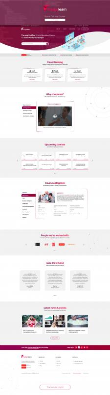 UX і дизайн сайту онлайн курсів