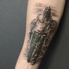 Тату роб зомби tattoo rob zombie