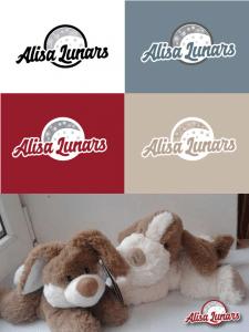 Логотип для творческой мастерской  Alisa Lunars