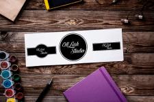 Логотип OK LASH STUDIO