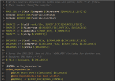 Автоматическая сборка зависимостей с помощью Make.