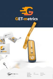 """Логотип и визуализация для """"GET-metrics"""""""