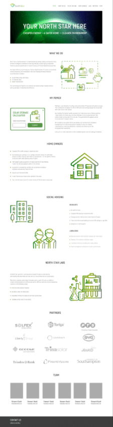 Дизайн сайта для компании по эко-энергии