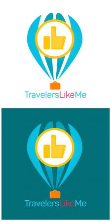 """Логотип """"Travelers Like me"""""""
