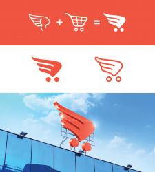 """Логотип для торгового центра """"Меркурий"""""""