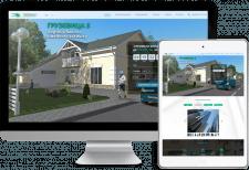 Разработка сайта строительной компании Грузевица-3