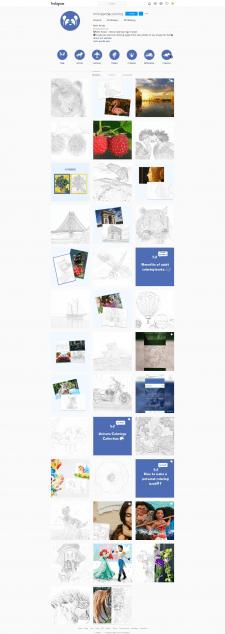 Розробка візуалу для інстаграм акаунту
