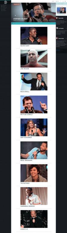 Comedy center