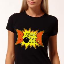 """принт на футболку """"sexbomb"""""""