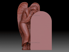 Моделирование скульптуры ангела для резки из мрамо
