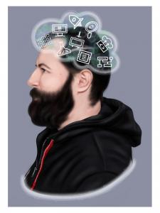 Цифровой портрет/шарж по фото