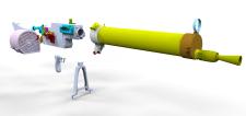 Пулемет для 3d печати