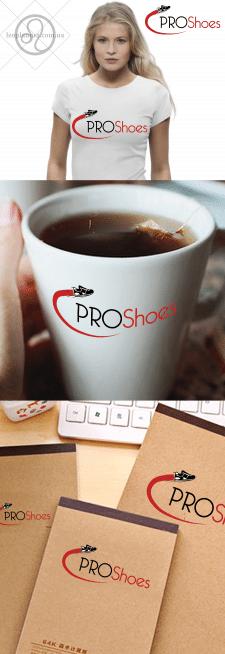 "Разработка логотипа для ""PROShoes"""
