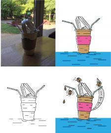 Креативная иллюстрация