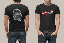 Принт на футболку для екстрим лагеря 2016