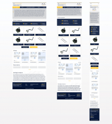 Адаптивный дизайн сайта-каталога