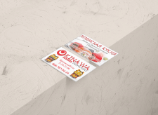 Business card for Okinawa cafe #1