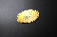 Логотип для магазина биокаминов Gold Fire