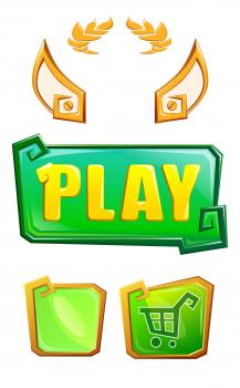 кнопки для игры Zeus Defence (Alawar)
