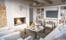 Дизайн та візуалізація вітальні
