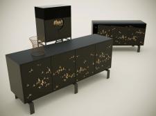 Моделирование мебели gремиум-производителя MANZONI
