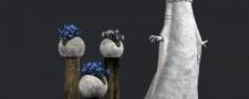 Моделинг и визуализация садовой скульптуры