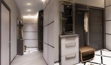 Дизайн интерьера прихожей  2-х комнатной квартиры