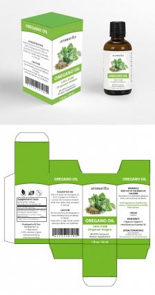 Re-Design упаковки и этикетки Box&Label