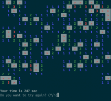 minesweeper-cli-rs