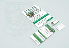 Molfar. Дизайн визитки, афиши и листовки.