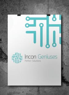 Логотип компании Incon Geniuses - Perfect Solution