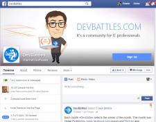 Таргетингова реклама DevBattles в Facebook
