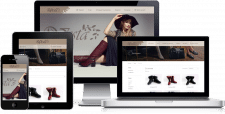 Сайт-каталог производителя обуви Dresta