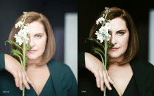 Портретная съемка и ретушь
