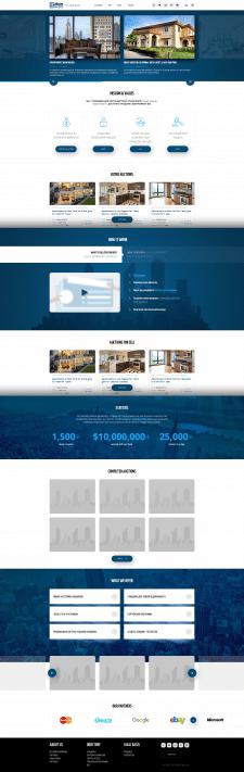Аукционы по недвижимости (100+ уникальных страниц)
